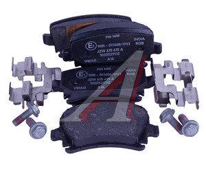 Колодки тормозные VW Passat,Tiguan AUDI A6,Q3 задние (4шт.) OE 3AA698451, GDB1763