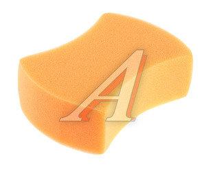 Губка для мойки автомобиля оранжевая поролон AIRLINE AB-T-04
