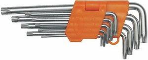 Набор ключей TORX T10-Т50 Г-образных 9 предметов Professional АВТОДЕЛО АВТОДЕЛО 39151, 11739