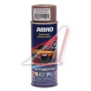 Краска темно-бежевая аэрозоль 473мл ABRO 509 ABRO, Л0509