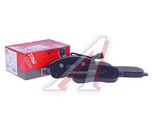 Колодки тормозные RENAULT Master 2 передние (4шт.) TRW GDB1910, 410604386R