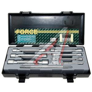Набор ключей торцевых 6-19мм 6-ти гранных двухсторонних 8 предметов FORCE F-50817