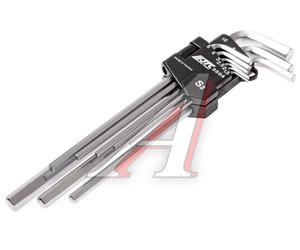 Набор ключей шестигранных 1.5-10мм удлиненных 9 предметов JTC JTC-3504