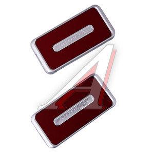 Фиксатор ремней безопасности RED 2шт. GT GT-38975R