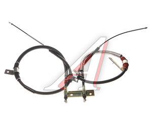 Трос стояночного тормоза SSANGYONG Rexton (02-) (E23/28/32) задний (2шт.) (барабанные тормоза) OE 4901008201