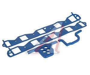 Прокладка ГАЗ-53,66 коллектора впускного комплект (синяя) 66-1008079/80/81, 66-1008079-Б