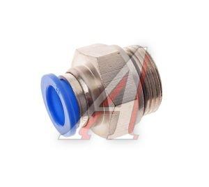 Соединитель трубки ПВХ,полиамид d=12мм (наружная резьба) М22х1.5 прямой PC M22x1.5 d=12, АТ-0718
