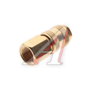 """Переходник для компрессора F3/8"""" быстросъемный с клапаном внутренняя резьба лт. BSE1-3SF, PN-BSE1-3SF"""