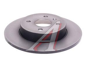 Диск тормозной OPEL Astra H,Meriva (03-) задний (1шт.) TRW DF4344, 0569116/93176548