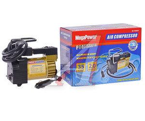 Компрессор автомобильный 35л/мин. 10атм. 14А 12V в прикуриватель (сумка) MEGAPOWER M-14001