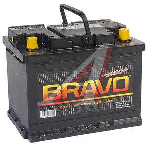 Аккумулятор BRAVO 60А/ч обратная полярность 6СТ60