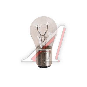 Лампа 12V P21/5W BAY15d двухконтактная PHILIPS 12499CP, P-12499, А12-21+5