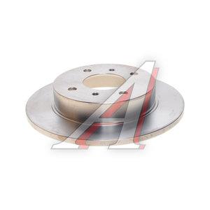 Диск тормозной NISSAN Almera (N16) задний (1шт.) NIPPARTS J3311028, DF2592, 43206-99J01