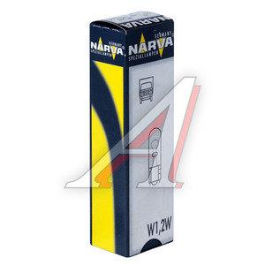 Лампа 24V W1.2W W2.1x9.5d бесцокольная NARVA 17040, N-17040, А24-1,2