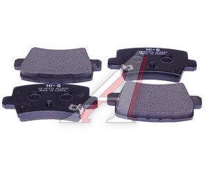 Колодки тормозные HONDA Civic 7 (05-) задние (4шт.) SANGSIN SP1570, GDB3408