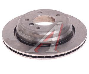 Диск тормозной BMW 5 (E39) (96-) задний (1шт.) JURID 562036J, DF2783, 34216767060