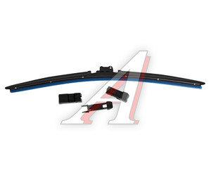 Щетка стеклоочистителя 450мм бескаркасная (7 адаптеров) Universal All Seasons MEGAPOWER M-75018