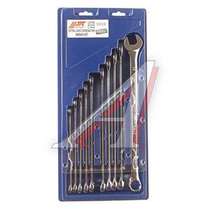 Набор ключей комбинированных 10-19мм 10 предметов в холдере изгиб 15град. удлиненные JTC JTC-LS10S