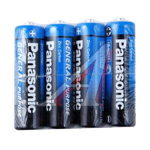 Батарейка AA R6 1.5V блистер 4шт. (цена за 1шт.) Saline PANASONIC R 6 SR-4, PAN-R6