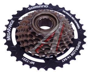 Трещотка велосипедная 7 скоростей 14-34Т SHIMANO EMFTZ317434T