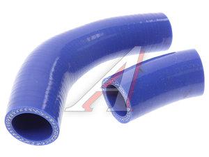 Шланг ГАЗ-3302 Бизнес дв.УМЗ 4213,4216 РХХ комплект 2шт. синий силикон 420.1014078-20
