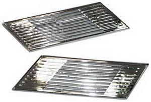 Дефлектор ВАЗ-2105 стойки задней комплект хром 2105-5701040/41Х, 2105-5701040