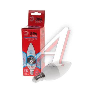 Лампа светодиодная E14 B35 6W (40W) 420Лм холодный ЭРА ЭРА LED-SMD-B35-6W-840-E14 ECO, ER-LED146-4K, Б0017935