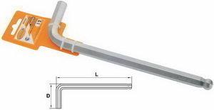 Ключ шестигранный Г-образный 17мм L=225мм шаровый Professional АВТОДЕЛО АВТОДЕЛО 39157, 11959