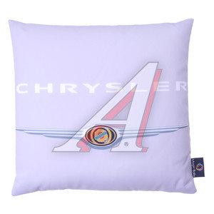 Подушка автомобильная CHRYSLER (35х35см) антистрессовая серая MAGIC BALLS CK-00176