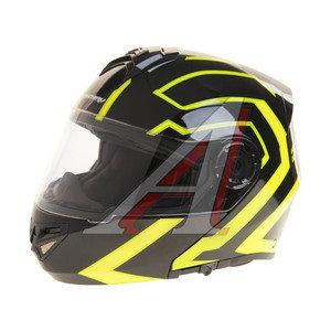 Шлем мото (модуляр) MICHIRU Tron Green MF 120 L, 4680329006431