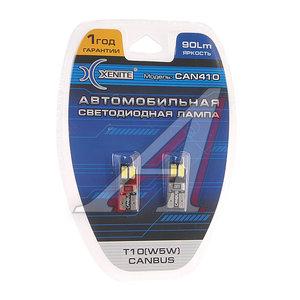 Лампа светодиодная 12V W5W W2.1х9.5d блистер (2шт.) XENITE 1009380, А12-5-2