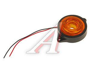Фонарь габаритный LED 24V, круглый желтый (d=55мм 10-светодиодов) АВТОТОРГ НК-0049/LED ж