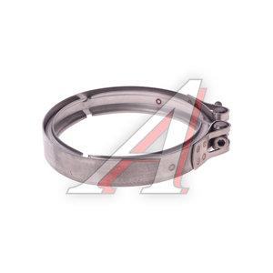 Хомут КАМАЗ-ЕВРО-4 выхлопной трубы d=150-160мм (нержавеющая сталь) DINEX 78828, 78828/1290255/511125