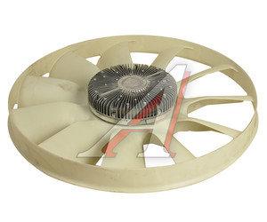 Вентилятор КАМАЗ-ЕВРО 750мм с вязкостной муфтой и обечайкой в сборе BORG WARNER 020005463