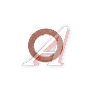 Шайба 8.0х12.0х1.0 КАМАЗ,МАЗ трубок топливных медная (плоская) РИПУС ШМ 8.0х12.0-1.0-П