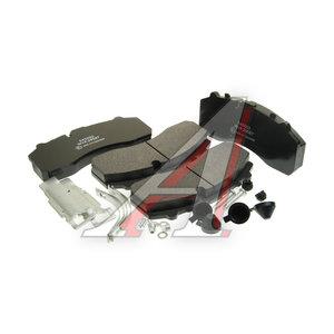 Колодки тормозные MERCEDES DAF SCANIA IVECO SAF МАЗ-203 передние/задние (4шт.) OREX OR545002, 29061