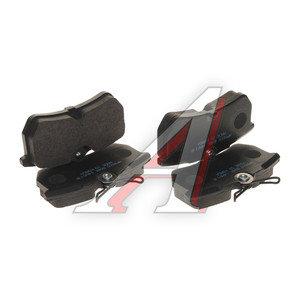 Колодки тормозные FORD Focus (98-05) задние (4шт.) HSB HP9515, GDB1354, 1425407