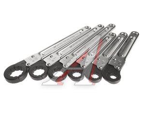 Набор ключей трещоточных 10-22мм 12-ти гранных раскрывающихся 6 предметов JTC JTC-3325S