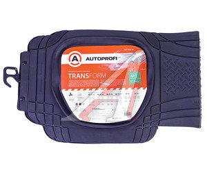 Коврик салона универсальный термопласт задний длинный черный (1 предмет) Transform AUTOPROFI TER-003 BK