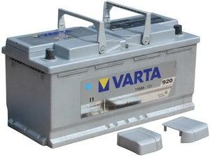 Аккумулятор VARTA Silver Dynamic 110А/ч обратная полярность 6СТ110 I1, 610 402 092 316 2