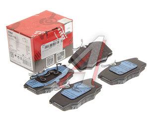 Колодки тормозные VW Golf,Parati (02-) (1.6/1.8) передние (4шт.) TRW GDB1759