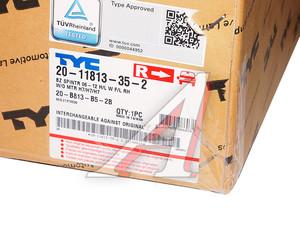 Фара MERCEDES Sprinter (06-) правая (с ПТФ) (под корректор) TYC 20-B813-B5-2B, 440-1160R-LDEMF, A9068200661