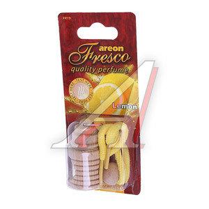 Ароматизатор подвесной жидкостный (лимон) дерево Fresco AREON FR17, 704-051-917