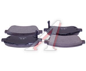 Колодки тормозные HONDA CR-V 3 (07-) передние (4шт.) SANGSIN SP1567, GDB3445, 45022-T1E-G00/45022-SWW-G02
