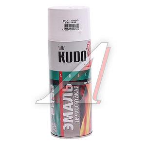 Краска термостойкая белая 520г KUDO KUDO-5003, KU-5003