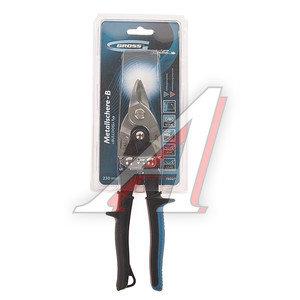 Ножницы по металлу 230мм пряморежущие усиленные PIRANHA GROSS 78327