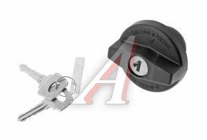 Крышка бака топливного ВАЗ-2108 с ключом ДААЗ 95.00.00, 00000095000000, 2108-1103010-11