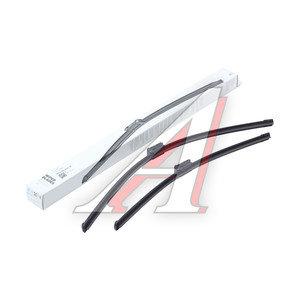 Щетка стеклоочистителя SKODA Yeti (10-) комплект OE 5L1998001