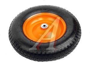 Колесо для тачки d=380мм, подшипник внутр.-10мм длина оси 80мм PALISAD 68946
