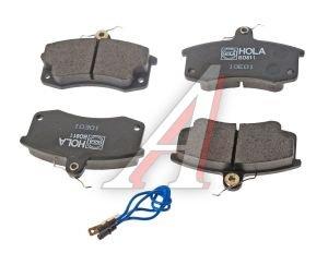 Колодки тормозные ВАЗ-2110 передние (4шт.) HOLA 2108-3501080, BD811, 2110-3501080